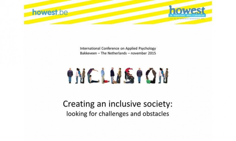 International Conference on Applied Psychology 2015 at Groningen